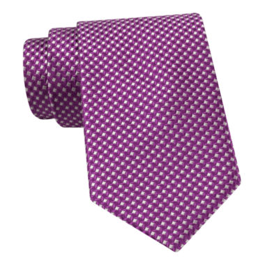jcpenney.com | Stafford® Windmill Bond Tonal Silk Tie