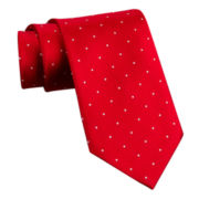 Stafford® Dot and Stripe Silk Tie