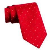 Stafford® Dot and Stripe Silk Tie