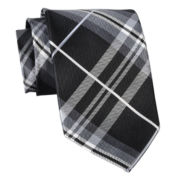 Stafford® Brighton Plaid Silk Tie