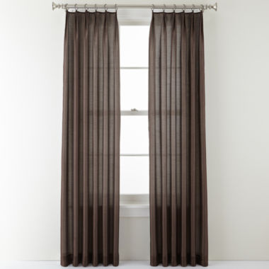 jcpenney.com | Royal Velvet® Encore Ring-Top Curtain Panel
