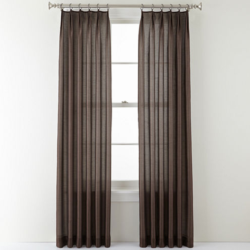 Royal Velvet® Encore Ring-Top Curtain Panel