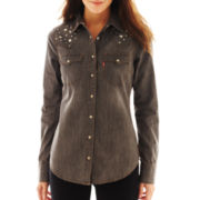Levi's® Studded Denim Shirt