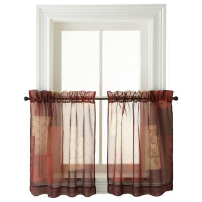 Eden Rod-Pocket Window Tiers