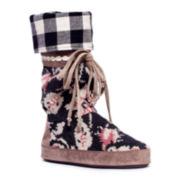 MUK LUKS® Jasmine Festival Tall Boot Slippers