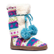 MUK LUKS® Jewel Candy Coated Boot Slippers