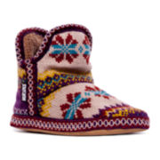 MUK LUKS® Amira Snowflower Boot Slipper