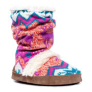 MUK LUKS® Jenna Scrunch Boot Slippers
