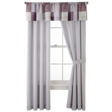 jcpenney.com | Home Expressions™ Leana 2-Pack Curtain Panels