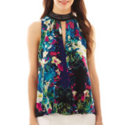 nicole by Nicole Miller® Crossover Tank Top
