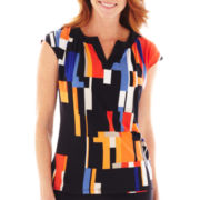 Worthington® Split-Neck Top