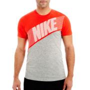 Nike® Blindside Color Block Tee