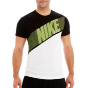Nike® Blindside Color Block Tee