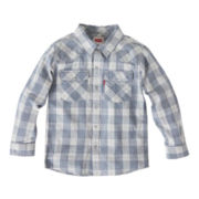 Levi's® Long-Sleeve Barstow Woven Shirt - Boys 8-20