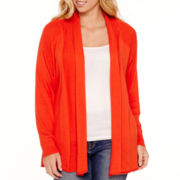 Stylus™ Long-Sleeve Flyaway Cardigan - Plus