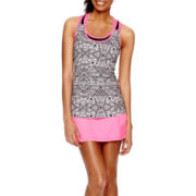 Xersion™ Double-Strap Tank Top, Sports Bra or Mesh-Trim Skort - Tall