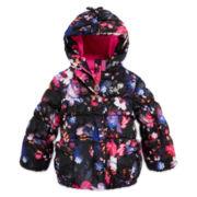 ZeroXposur® Floral-Print Puffer Jacket - Preschool Girls 4-6x