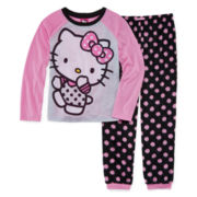 Hello Kitty® Polka Dot Pajama Set - Girls 4-10