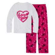 Total Girl® Reindeer Pajama Set - Girls 7-16