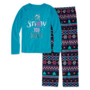 Total Girl® Snow Pajama Set - Girls 7-16
