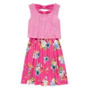Disorderly Kids® Floral Popover Dress - Preschool Girls 4-6x
