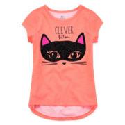 Okie Dokie® Halloween Graphic Tee - Preschool Girls 4-6x