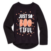 Okie Dokie® Graphic Halloween Tee - Preschool Girls 4-6x