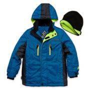 ZeroXposur® Snowboard Jacket and Beanie - Preschool Boys 4-7