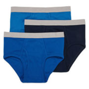 Stafford® 3-pk. Cotton Briefs