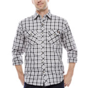 Dickies® Long-Sleeve Plaid Shirt
