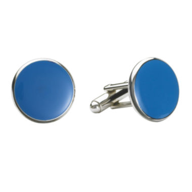 jcpenney.com | Round Enamel Inlay Cuff Links