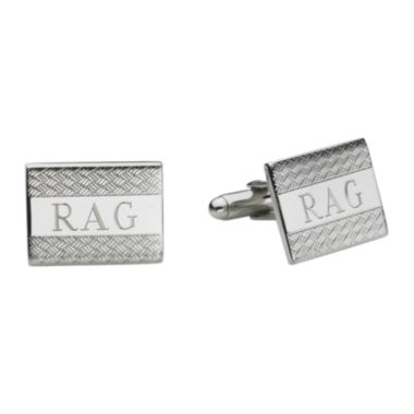 jcpenney.com | Personalized Wave Pattern Cuff Links