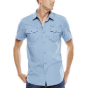 i jeans by Buffalo Maden Short-Sleeve Woven Shirt