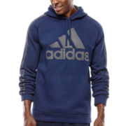 adidas® Essential Cotton Pullover Hoodie