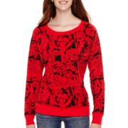 Long-Sleeve Reversible Sweatshirt