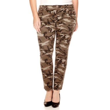 jcpenney.com | Arizona Camo Super Skinny Jeans - Juniors Plus