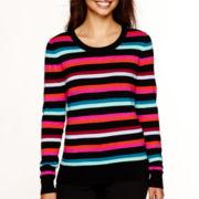 Worthington® Long-Sleeve Crewneck Sweater - Tall
