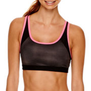 Xersion™ Keyhole-Back Print Sports Bra