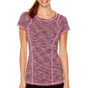 Xersion™ Short-Sleeve Space-Dyed T-Shirt