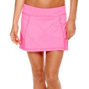 Xersion™ Mixed Mesh-Trim Skort - Tall