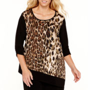 Alyx® Asymmetric Print Top - Plus