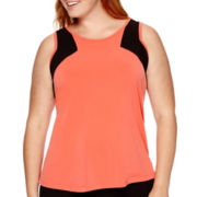 Worthington® Lace-Trim Tank Top - Plus
