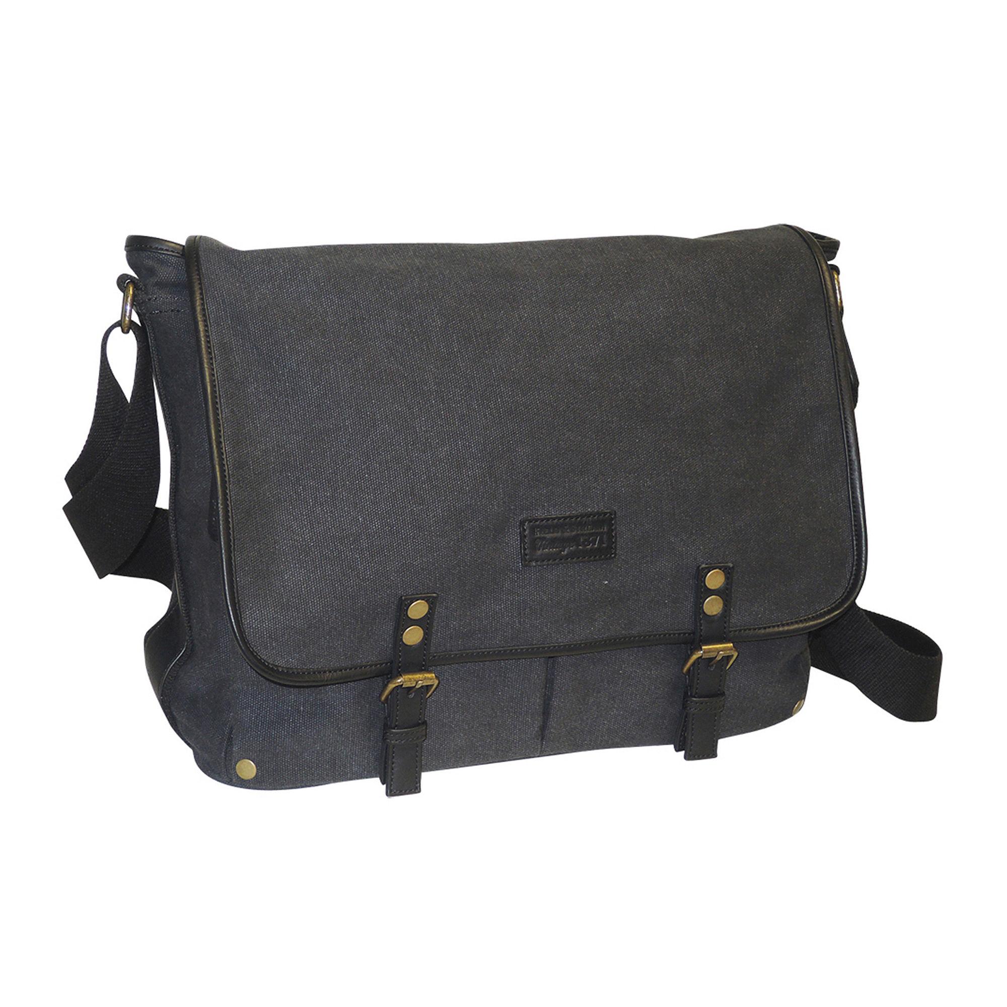 Field & Stream Vintage Messenger Bag plus size,  plus size fashion plus size appare