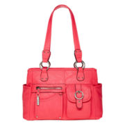 Rosetti® Riveting Seams Satchel