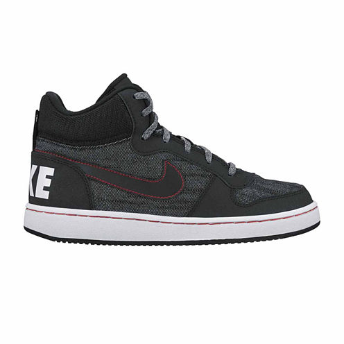 Nike Court Borough Mid Boys Sneakers - Big Kids