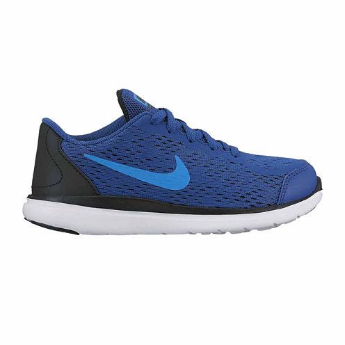 Nike Flex 2017 Run Boys Running Shoes - Little Kids