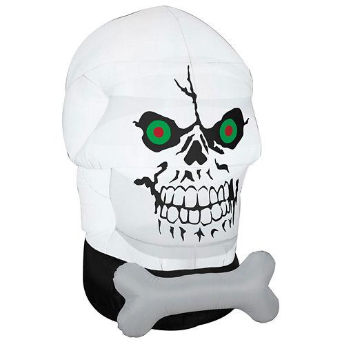 Airblown Gothem Skull