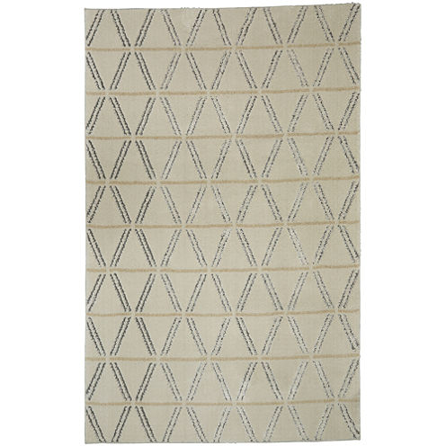 Mohawk Home Loft Linear Diamonds Rectangular Rugs