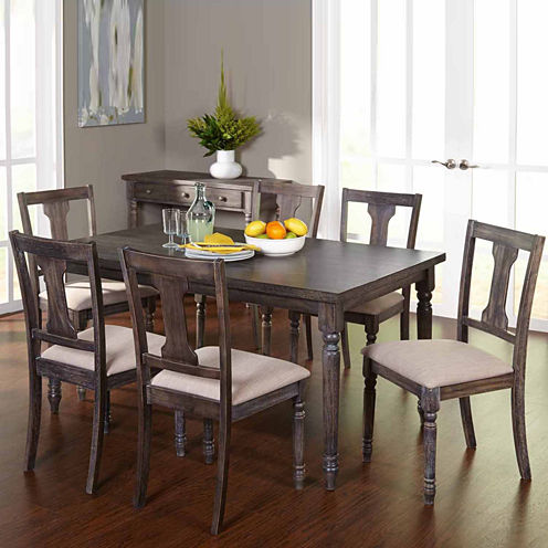 Burntwood 5-pc. Dining Set