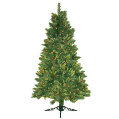 jcpenney.com | Pre-Lit Mixed Pine Christmas Trees